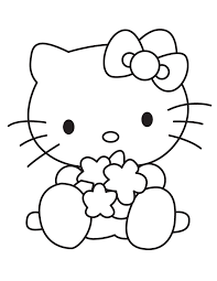 baby kitty playing toys coloring u0026 coloring pages