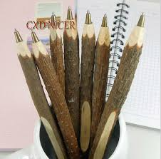 personalized creative wooden ballpoint pen imitation trees