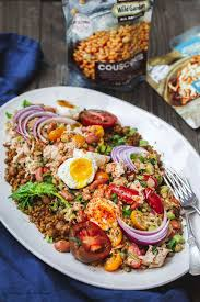 Tuna Salad Mediterranean Style No Mayo Tuna Couscous Salad Recipe The Mediterranean Dish