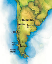 Bariloche Argentina Map Map Of Argentina And Chile Southwind Adventures Ultimate Chile