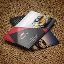 Automotive Business Card Templates Rent A Car Business Card Devitems Llc