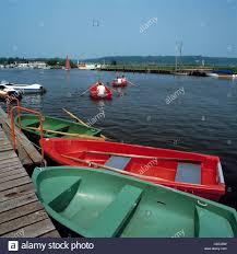 Bad Bederkesa Ruderboote Auf Dem Bederkesaer See In Bad Bederkesa Niedersachsen