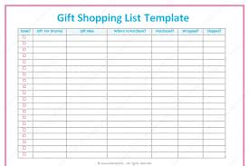 christmas shopping list christmas gift shopping list template best idea christmas 2017