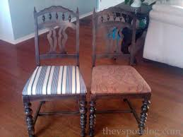 recover dining room chairs fixer upper update recovering dining room chairs with the ole