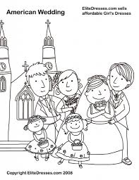 printable wedding coloring pages pertaining to invigorate to color