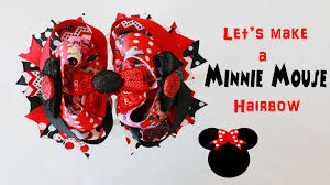 u0027s minnie mouse hairbow bow long