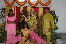 pooja decorations at home saraswati puja kite flying and a night of dancing under the stars