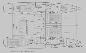 Catamaran Floor Plans Kurt Hughes Multihull Design Catamarans And Trimarans For