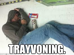 Trayvoning Meme - trayvoning the latest disturbing social media trend daily mail online