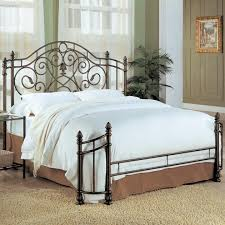 metal bed frame and full size headboard and footboard sets with