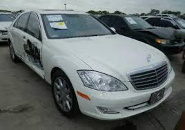 mercedes 2007 s550 for sale export salvage 2007 mercedes s550 rwd white on beige