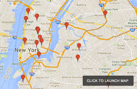 map new york the banksy tour of new york city interactive map