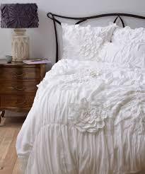 anthropologie bedding ruffled duvet cover