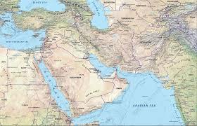 Middle East Map Middle East Physical Map Middle East Map Asia Middle East Map
