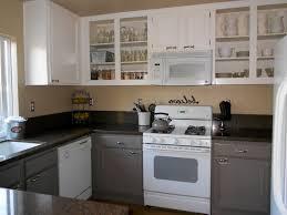 painting kitchen cabinets gray kitchen decoration
