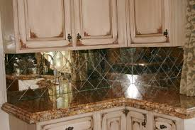 Mirrored Backsplash In Kitchen Mirror Back Splash Comfortable Home Design
