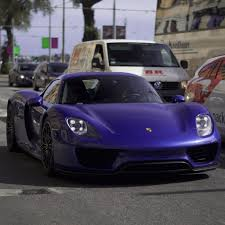 porsche purple purple 918 spyder madwhips