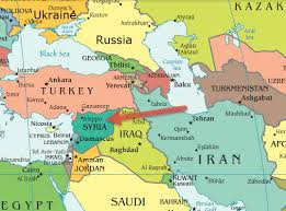 syria on map russia escalates syria war with missiles from caspian sea