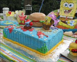 spongebob squarepants cake sponge bob and crabby patties oh my gray barn baking