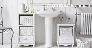 rose white bathroom cabinet freestanding storage