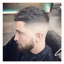 dope hairstyles for men as well as quiff with fringe and skin fade