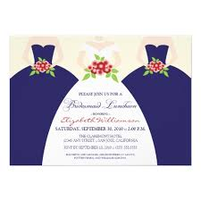 bridal luncheon invitation personalized bridesmaids luncheon invitations