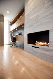 image result for contemporary linear fireplace tile surround ideas