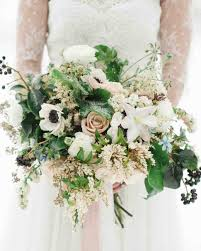 find the best flower for your wedding color palette martha