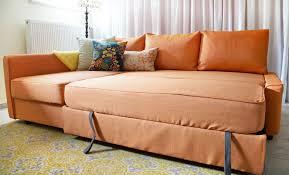 Orange Sofa Bed by Comfort Works Friheten Slipcover Review