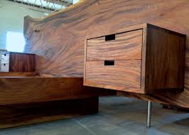 Floating Headboard With Nightstands by Monkeypod Headboard And King Platform Bed With Floating