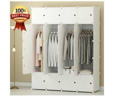 Wood Armoire Wardrobe Armoires U0026 Wardrobes Ebay