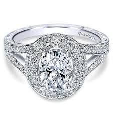 large engagement rings oval diamond engagement rings mullen jewelers