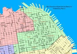 San Jose District Map by Sf District Maps U0026 Data Sf Gsa
