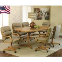 rolling dining room chairs dining room chairs with alluring dining room table and chairs with