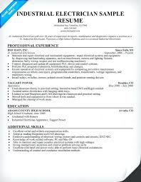 Resume For Iti Fitter 100 Electrical Resume Resume Templates For Electricians