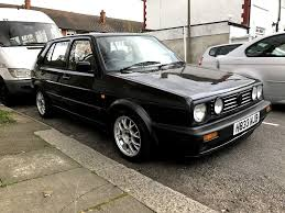 1991 vw golf gti 16v manual mk2 black fsh in manor house london