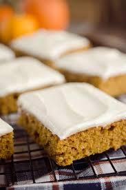 light pumpkin dessert recipes pumpkin cake bars
