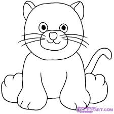 how to draw a black cat step by step webkinz cartoons draw