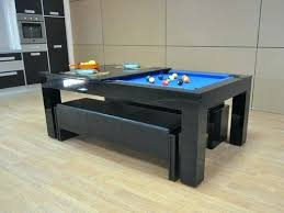 dining room pool table combination fascinating pool tables as dining room table at combo