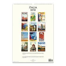cavallini poster italia poster calendar 2018 cavallini papers co