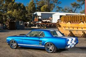 1967 blue mustang 1967 ford mustangs