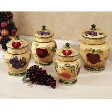 grape kitchen canisters canisters astounding grape canister set ceramic kitchen canisters