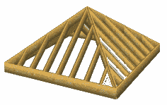 Irregular Hip Roof Framing Pyramid Roof Framing