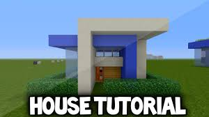 minecraft simple modern house tutorial xbox 360 ps3 xbox one ps4