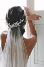 bridal back hairstyle stunning 58 wedding veils you will fall in love with wedding