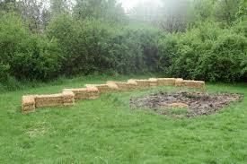 straw bale gardening week 1 camp lutherwood oregon