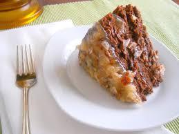 vegan heartland decadent german chocolate cake eggless baking