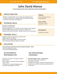 copy and paste resume template 28 images exles of resumes