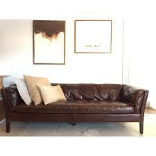 Leather Sofa Restoration Restoration Hardware Sorensen Leather Sofa Copycatchic