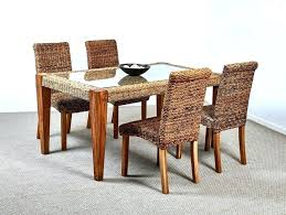 indoor wicker dining table indoor wicker dining room chairs attractive wicker dining room